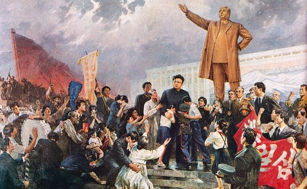 Death of Kim Il-sung in 1994